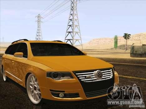 Volkswagen Passat B6 Variant for GTA San Andreas engine