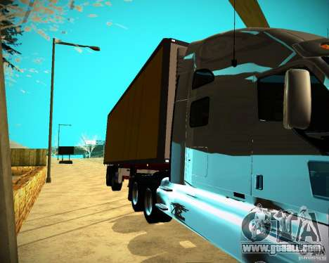 The Trailer Krone Biedra for GTA San Andreas back left view