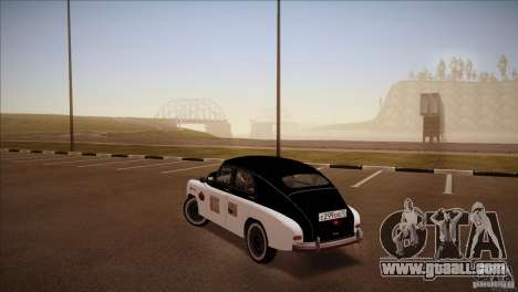 GAZ m-72 for GTA San Andreas left view