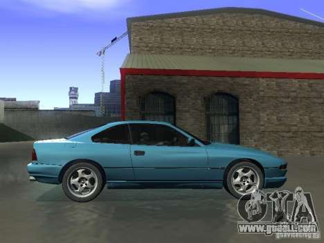 BMW 850CSi 1995 for GTA San Andreas back left view