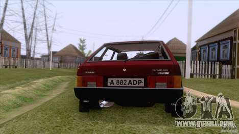 VAZ 2109 Drain Final for GTA San Andreas side view