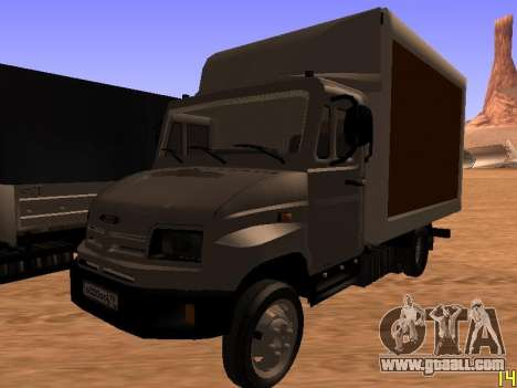 ZIL 5301 Goby for GTA San Andreas side view