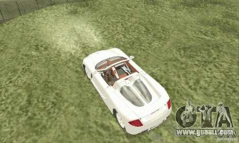 Porsche Carrera GT 2003 for GTA San Andreas right view
