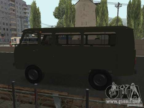 UAZ 2206 for GTA San Andreas right view