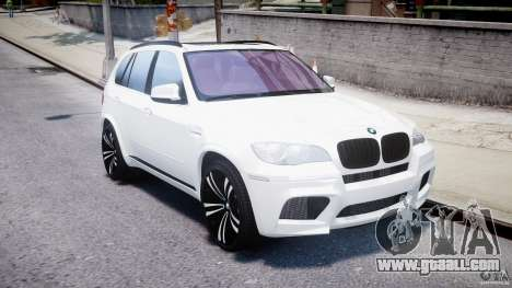 BMW X5M Chrome for GTA 4 inner view