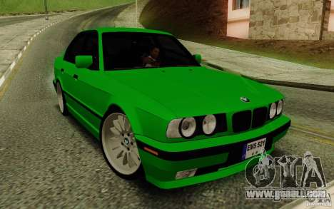 BMW E34 540i Tunable for GTA San Andreas