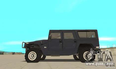 Hummer H1 for GTA San Andreas left view