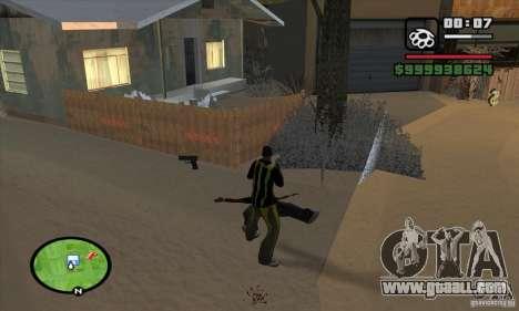 Monster energy suit pack for GTA San Andreas third screenshot