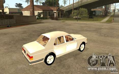 Bentley Turbo RT for GTA San Andreas right view