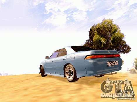 Toyota Mark II JZX90 for GTA San Andreas left view
