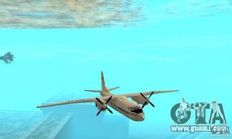 Antonov an-24 for GTA San Andreas side view