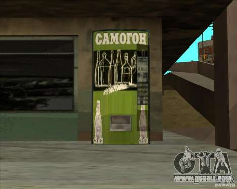 Machine with vodka for GTA San Andreas