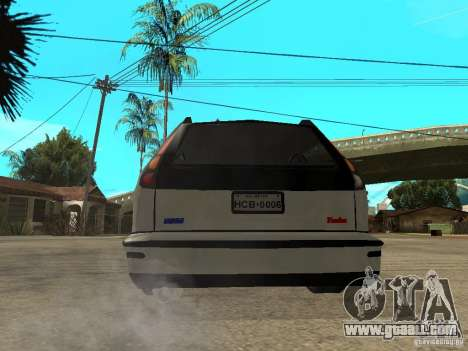 Fiat Marea Weekend for GTA San Andreas back left view