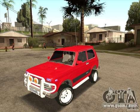 VAZ 21213 4 x 4 for GTA San Andreas upper view