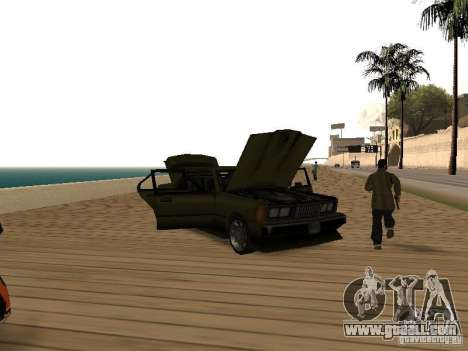 Sentinel XS for GTA San Andreas back view