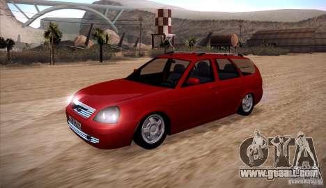 VAZ Lada Priora 2171 for GTA San Andreas