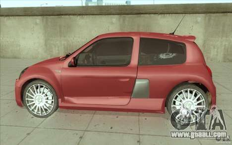 Renault Clio V6 for GTA San Andreas left view