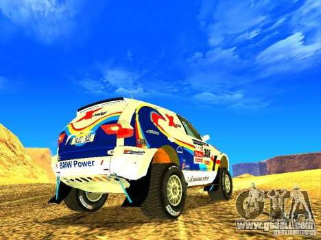 BMW X3 King Dessert for GTA San Andreas side view