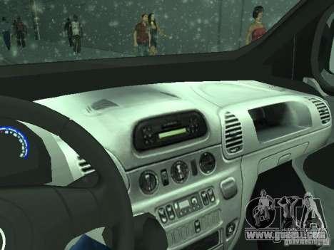 Vauxhall Vivaro v0.1 for GTA San Andreas side view