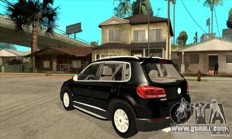 Volkswagen Tiguan 2.0 TDI 2012 for GTA San Andreas back left view