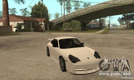 Porsche 911 GT3 (996) for GTA San Andreas back view
