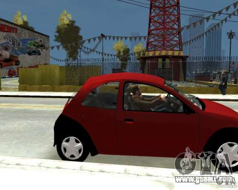 Ford Ka 1999 for GTA 4 right view