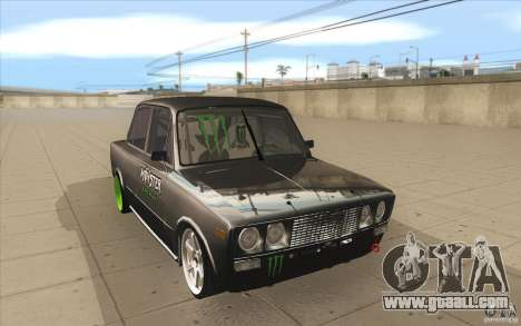 Vaz 2106 Lada Drift Tuned for GTA San Andreas back view