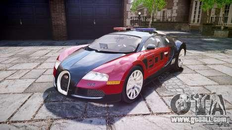Bugatti Veyron 16.4 Police [EPM/ELS] for GTA 4