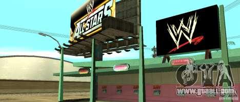 New WWE shop for GTA San Andreas forth screenshot