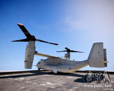 Osprey MV-22 for GTA 4 left view