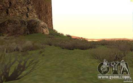 New desert for GTA San Andreas sixth screenshot