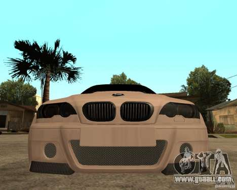 BMW M3 CSL E46 G-Power for GTA San Andreas right view