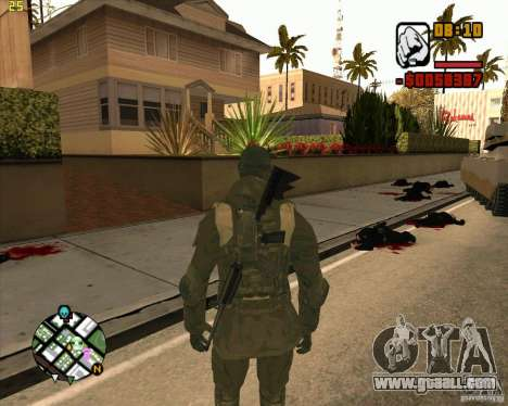 Ckin SAS for GTA San Andreas second screenshot