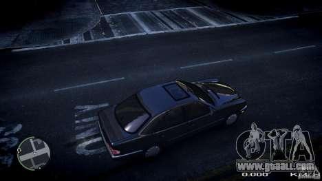 Mercedes w210 1998 (E280) for GTA 4 right view