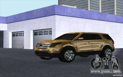 Ford Explorer Limited 2013 for GTA San Andreas