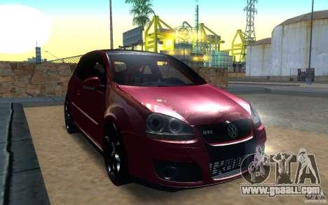VolksWagen Golf GTI MK5 for GTA San Andreas left view