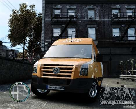 Volkswagen Crafter TNT for GTA 4 back view