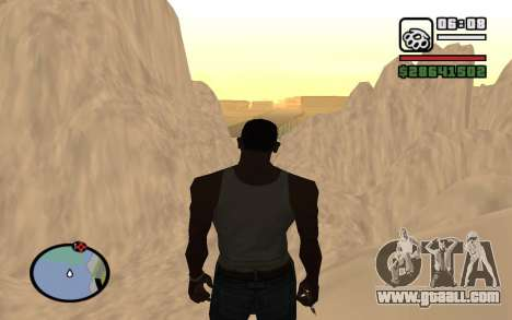 Mountain map for GTA San Andreas