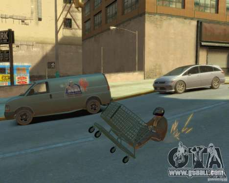 Trolley for GTA 4 back view