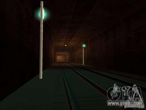 Railway traffic lights for GTA San Andreas second screenshot