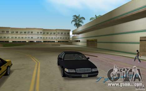 Ford Crown Victoria for GTA Vice City back view