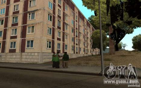 A small Russian town on Grove Street for GTA San Andreas third screenshot