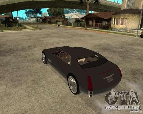 Cadillac Sixteen for GTA San Andreas left view