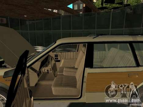 Oldsmobile Cutlass Cruiser 1993 for GTA San Andreas back view