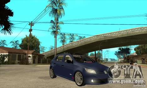 Volkswagen Gol Trend 1.6 for GTA San Andreas back view
