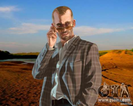 Boot screen Russia in America for GTA 4 forth screenshot