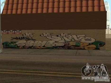 Los Santos City graffiti legends v1 for GTA San Andreas second screenshot