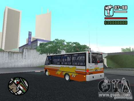 Ciferal Agilis M.Benz LO-814 BY GTABUSCL for GTA San Andreas left view