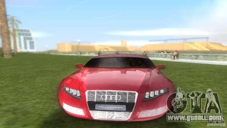 Audi Nuvolari Quattro for GTA Vice City inner view