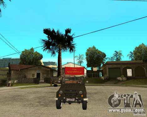 UAZ 469 Parade for GTA San Andreas